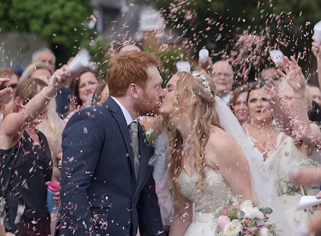 Recommended wedding videographers at Highfield Park, Surrey | W4 Wedding Films