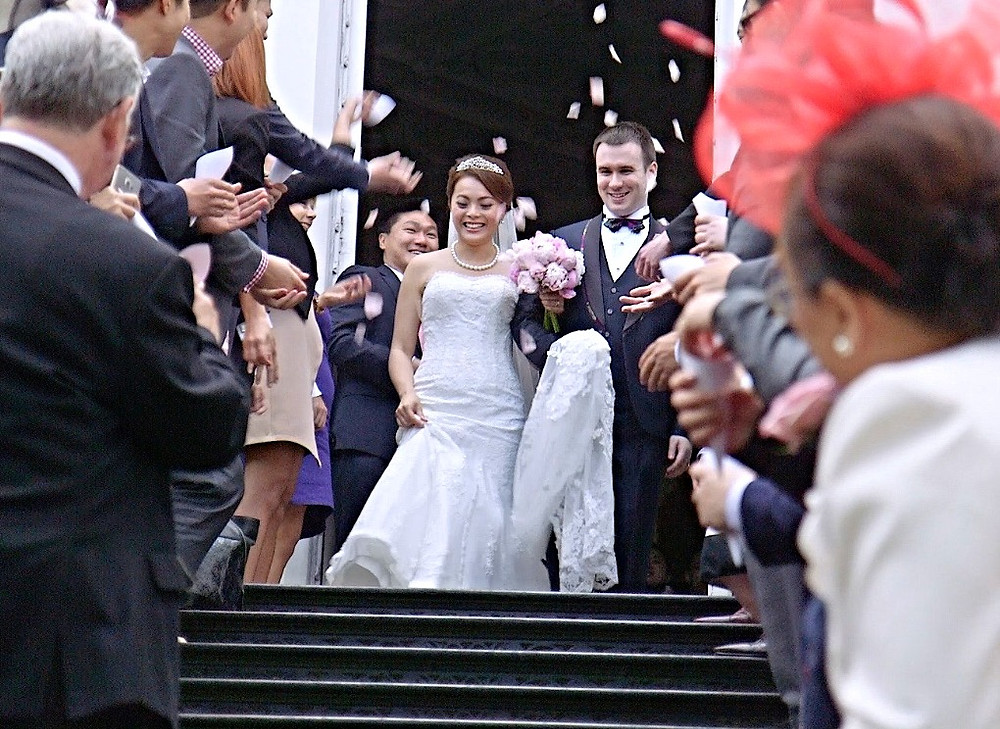 Wedding Videographer at Strawberry Hill House