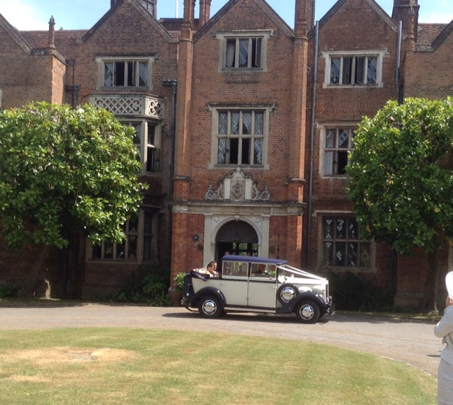 Great Fosters Wedding Car Hire