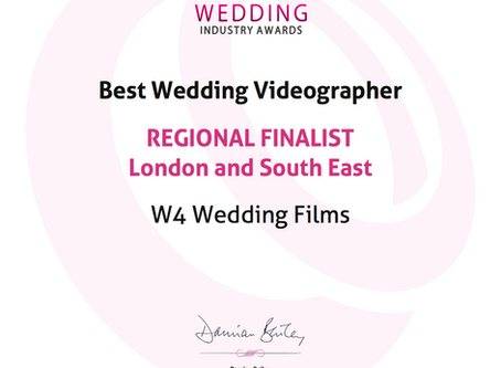 Regional Finalists at the 2015 Wedding Industry Awards!