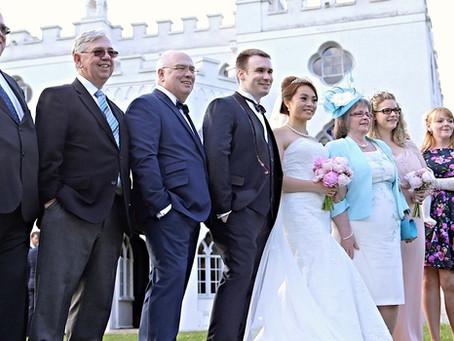 Wedding videographers at Strawberry Hill House, Twickenham, London | W4 Wedding Films