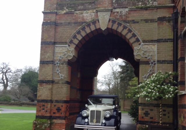 The Elvetham Hotel Wedding Car