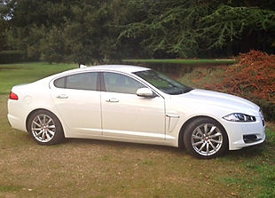 Jaguar XF | Car hire for weddings, Surrey, Berkshire, Hampshire and West London