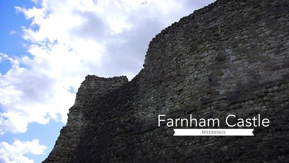 Farnham Castle Wedding Filming