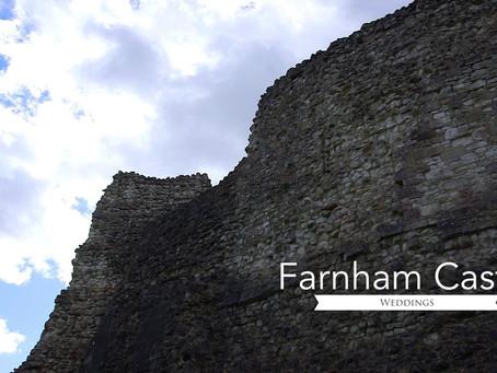 Farnham Castle wedding video | W4 Wedding Films | Surrey Videographers