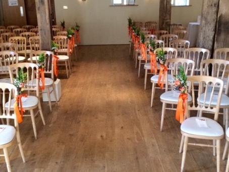 Bury Court Barn Wedding Flowers