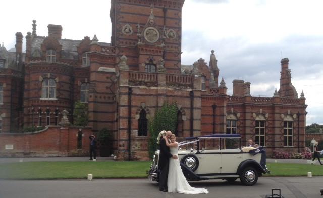 The Elvetham Hotel Wedding Car Hire