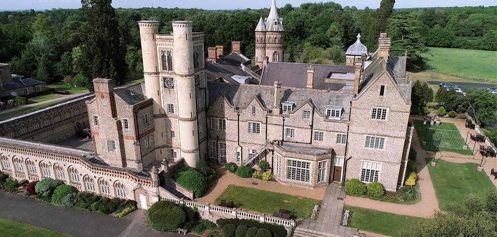 Horsley Estate Drone videographer