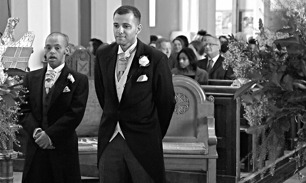Wedding Videographer at Holy Trinity Church in Twickenham
