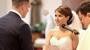 wedding video St Peter's Italian chruch London