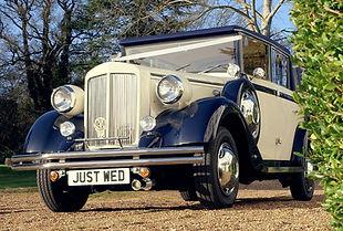 The Regent Landaulette | Car hire for weddings, Surrey, Berkshire, Hampshire and West London