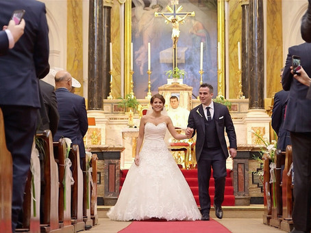 Our wedding video at the Rosewood Hotel in London and St. Peter's Catholic Church