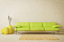 Living-room-interior-design-ideas-with-green-sofa