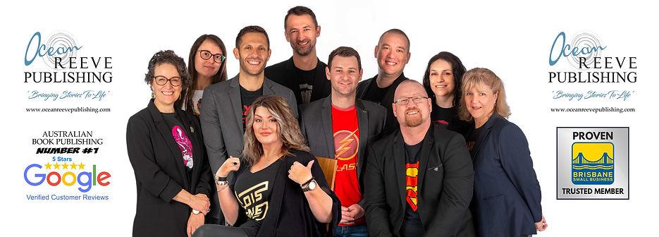 Ocean Reeve Publishing Team Brisbane Gol