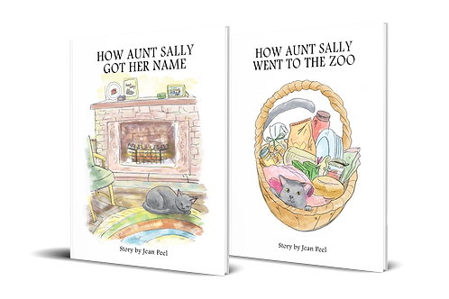 Aunt Sally Two Book Set
