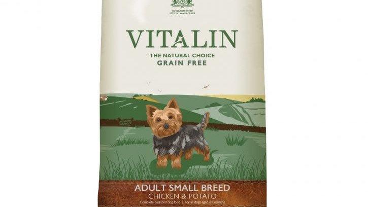 Vitalin - Croquettes pour chiens de petite race - 6kg