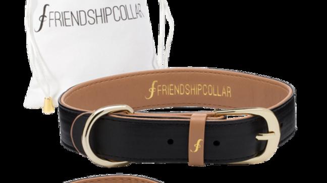 Collier chien ou chat Vegan + bracelet assorti