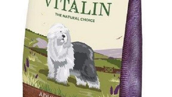 Vitalin Canard 12kg Croquettes pour chiens sans gluten