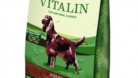 Vitalin Poulet 12kg Croquettes pour chiens sans gluten