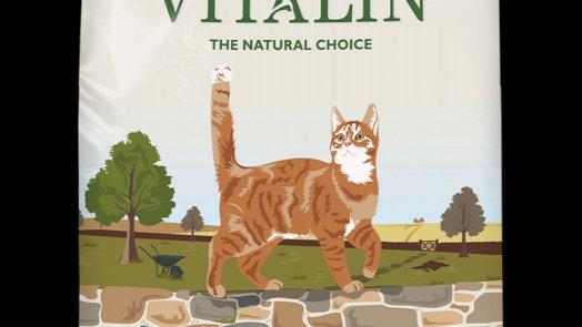 Vitalin chat poulet 15Kg croquettes premium