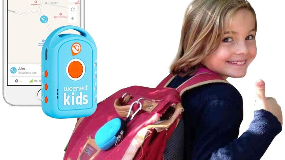 Traceur GPS Weenect enfant