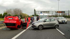 What should I do after being involved in a car accident?