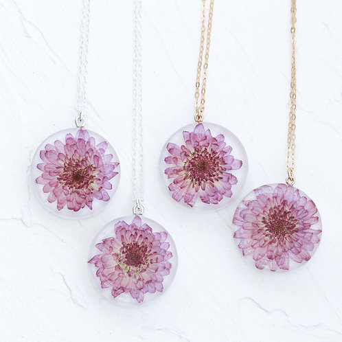 copy of chrysanthemum necklace