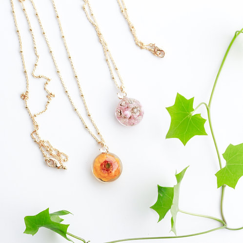 Small charm necklaces