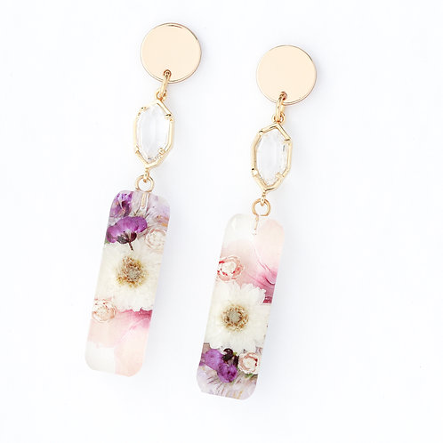 Statement floral #2 earrings