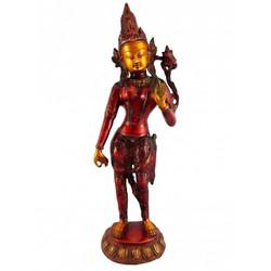 white-tara-statue-brass-2270-grams