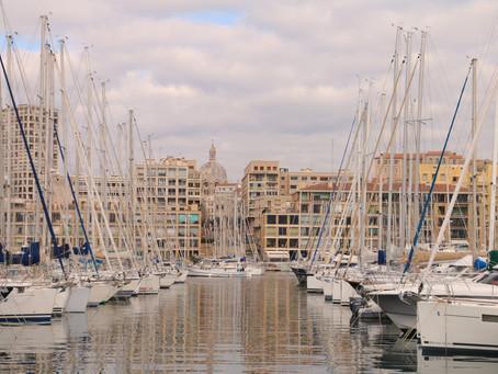 Marseille, côté ville et côté mer