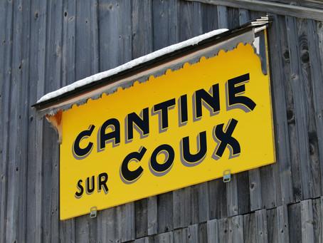 La Cantine sur Coux en mode printanier (ou presque)