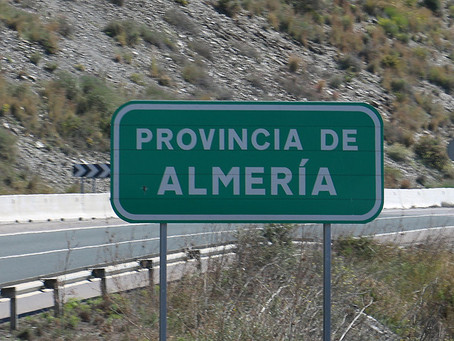 De Alcaucin à Mojacar