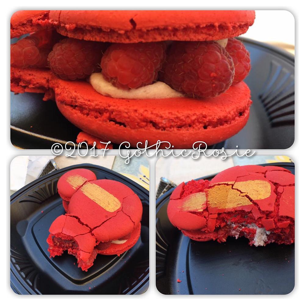 Oversized Raspberry Macaron