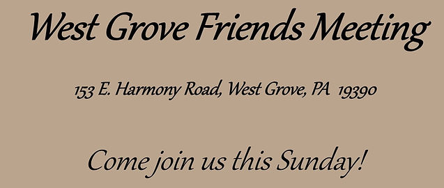 West Grove Friends Quaker Meeting