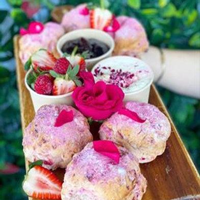 Raspberry, Strawberry & Pink Lemonade Scone Box