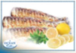 fileti di merluzzo con pelle grigliati.j