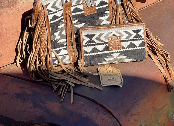 Cholula Serape Satchel Fringe Bag and Wallet by sTs Ranchwear