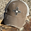 Thumbnail: Cowhide Hair on Hide Zia Patch Crisscross Ponytail Hat