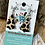 Thumbnail: Leopard Wood Christmas Tree Cut Earrings