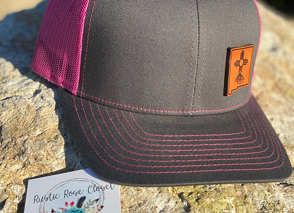 Zia NM Roots Leather Patch Richardson Hats