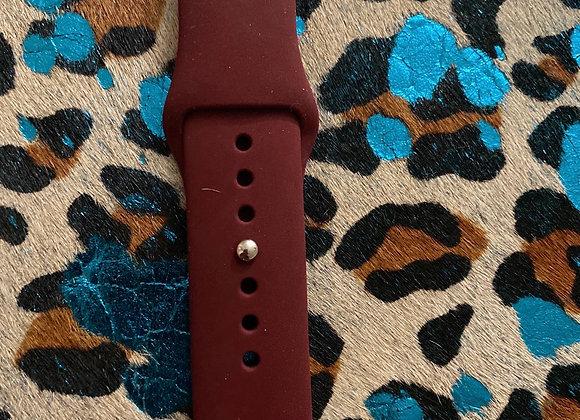 Horse Shoe Cowboy Engraved Watchband 42/44