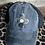Thumbnail: Zia Cowhide Patch Criss Cross Ponytail Hat