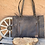 Thumbnail: American Darling Tooled Leather Cowhide Bag with Fringe