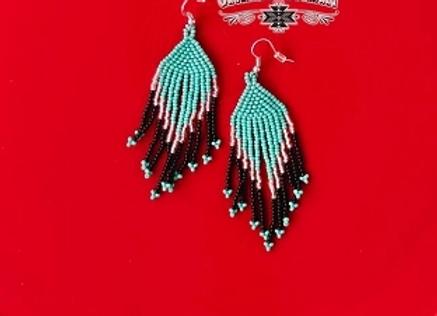 Fancy Flare Bead Earrings