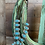 Thumbnail: Squash Blossom Turquoise Natural Stone Necklace