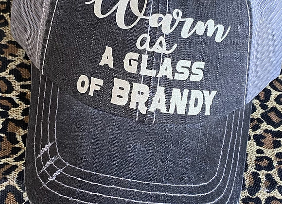 Warm As A Glass of Brandy Vintage Hat