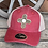 Thumbnail: Zia Hide Patch Trucker Style Hat & Ponytail