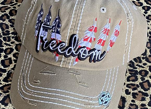 Freedom Vintage Trucker Hat