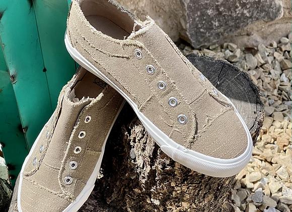 Corkys Babalu Taupe Sneakers